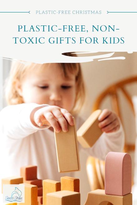 Plastic-free gift ideas for kids. Seas & Straws