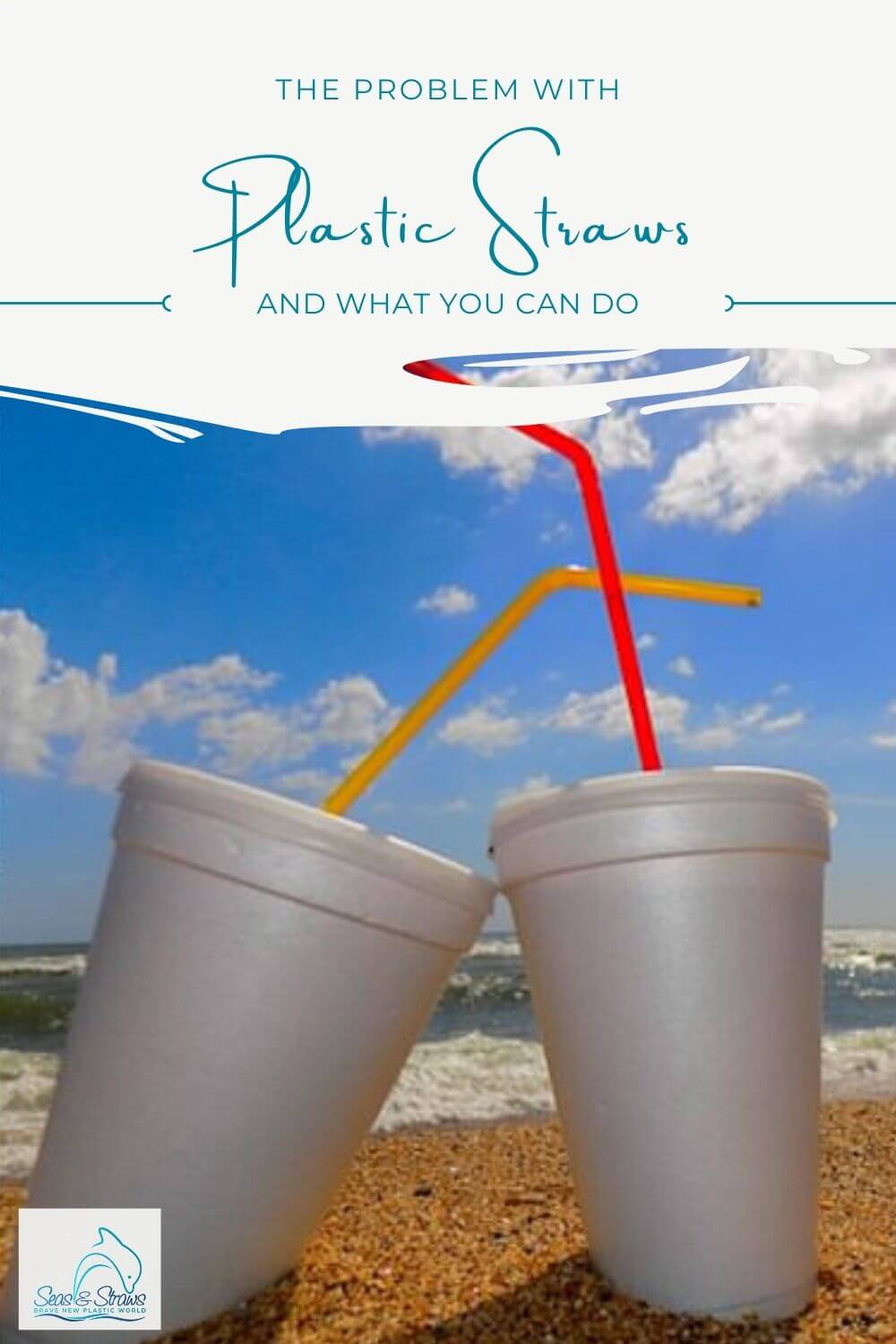 The Problem With Plastic Straws. Seas & Straws