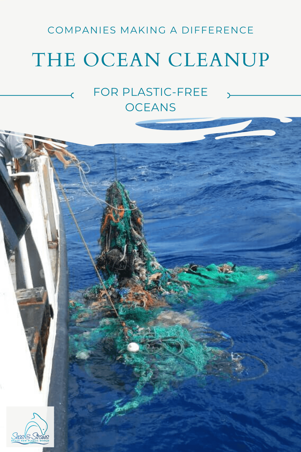 Why the World needs the Ocean Cleanup. Photo: © Ocean Cleanup
