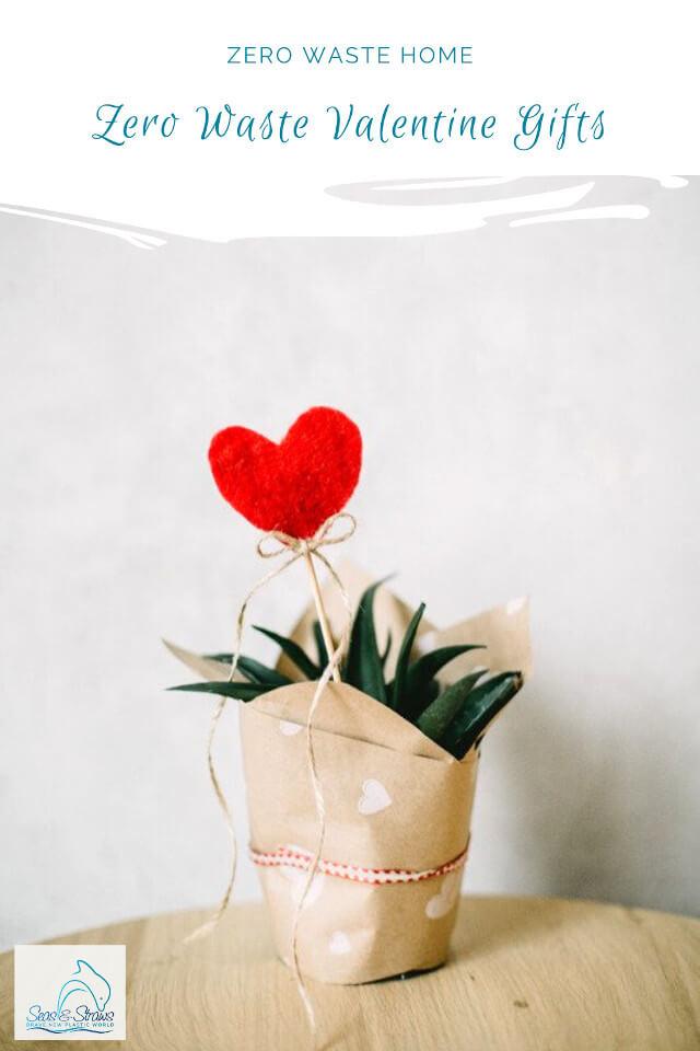 Zero Waste Valentine's Day. Photo: ©Seas & Straws