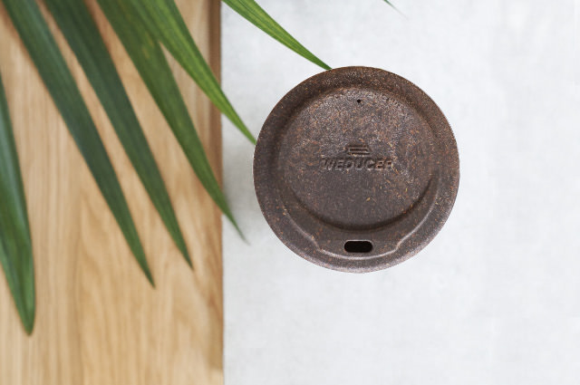 The Lid of the Weducer Cup. Photo: © Kaffeeform