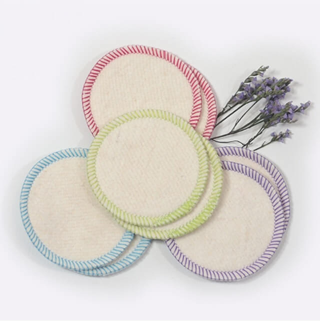 Cotton and hemp makeup removal pads can be used again and again. Photo: ©www.lifewithoutplastic.com