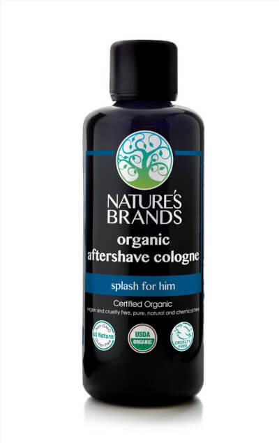 The Nature's Brand Cologne Is Organic, Vegan and Plastic-Free. Photo: ©naturesbrands.com