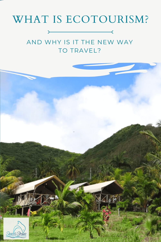 Ecotourism as the new way to travel. Photo: Seas & Straws