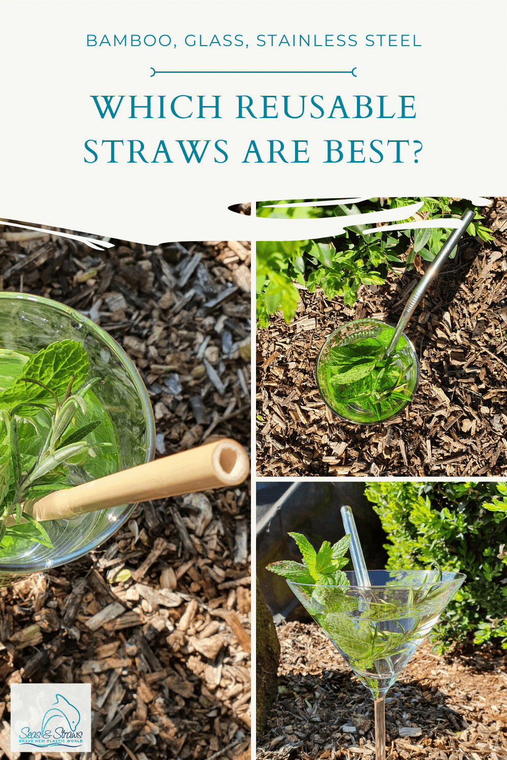 Bamboo, glass or stainless steel - which reusable straws do you prefer? - Seas & Straws