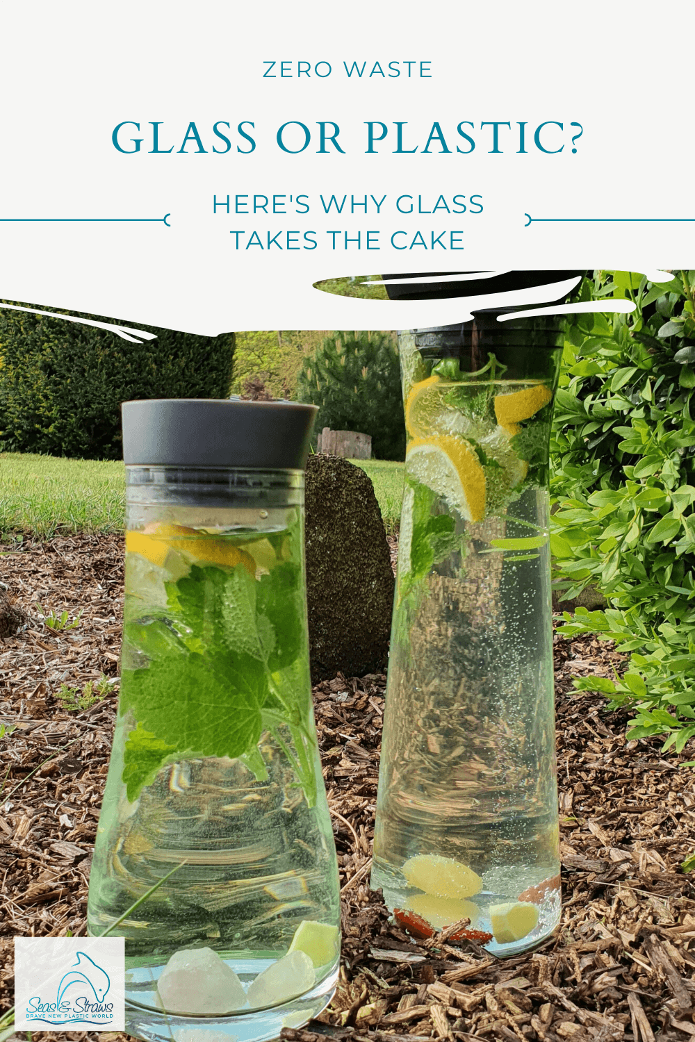 Glass or plastic? Here's why glass takes the cake. Seas & Straws