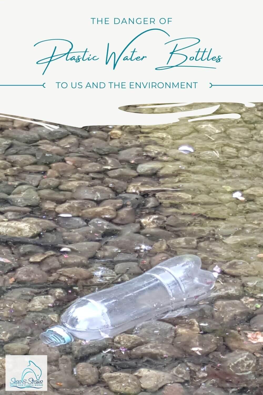 The danger of plastic water bottles. Photo: ©Seas & Straws