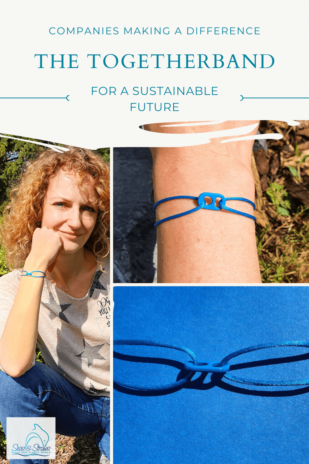 Togetherband - Together for a healthy planet and a sustainable future. Photo: Seas & Straws