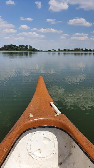 Enjoying the peace and quiet on the Lake Bützow. Photo: ©Seas & Straws