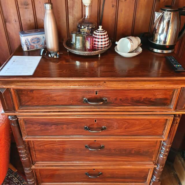 Antique wooden chest. Photo: ©Seas & Straws