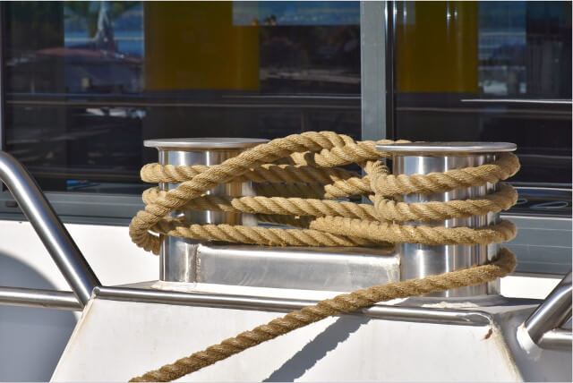 Strong ropes are made from hemp