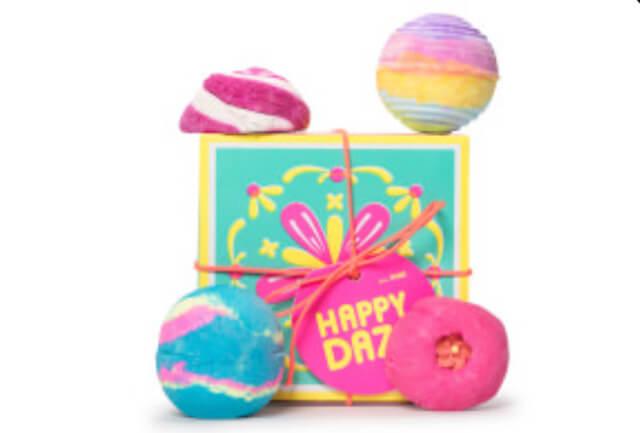 Lush Happy Daze gift set. Photo: Lush