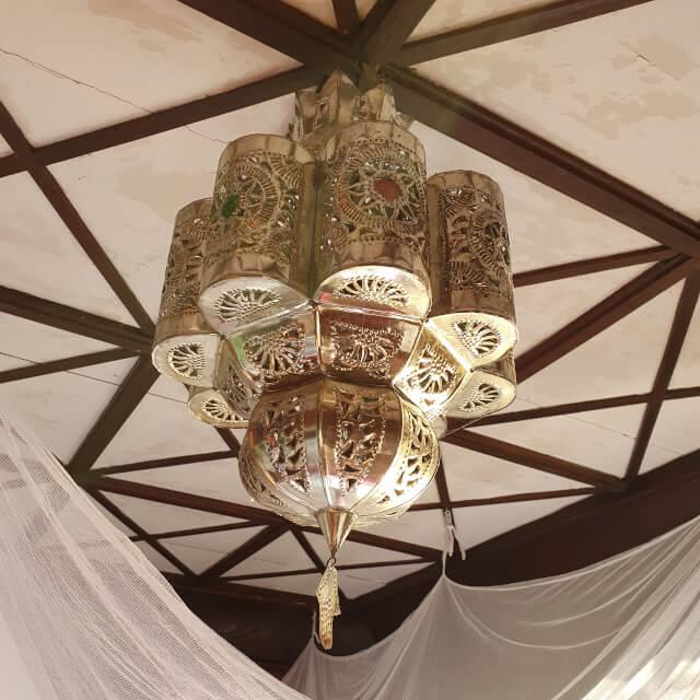 A vintage Moroccan lamp. Photo: ©Seas & Straws