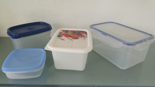 A Variety of Polypropylene Food Storage Containers
