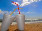 Seas & Plastic Straws