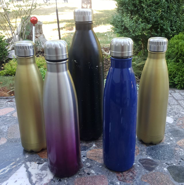 My collection of stainless steel water bottles - Seas & Straws