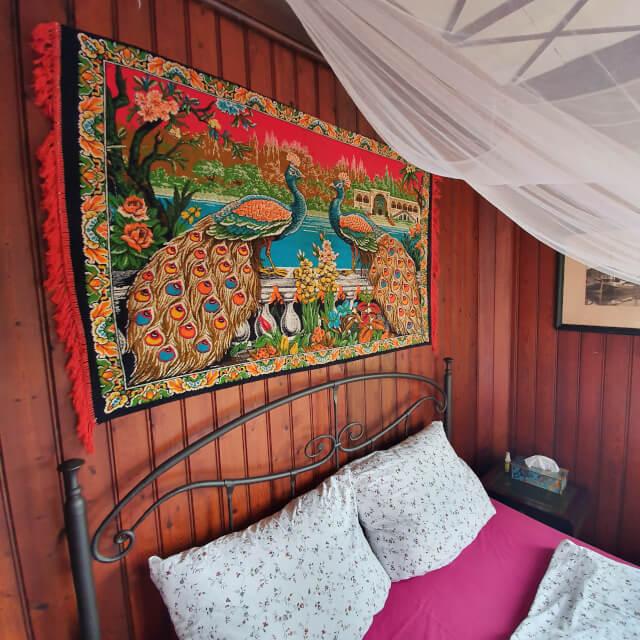 Love the tapestry. Photo: ©Seas & Straws