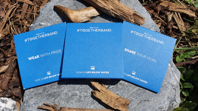 Buy one Togetherband, get two. You get two identical wristbands - one for you, one to give away. Photo: Seas & Straws