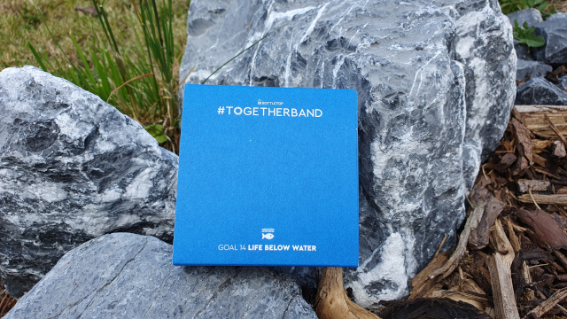 Everything about the Togetherband is 100% recycled. No waste. Photo: Seas & Straws