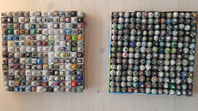 The wall decoration in the Soulmade Hotel. Photo: Seas & Straws.