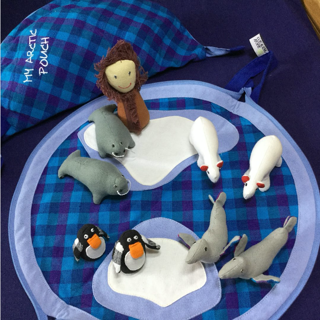 The Polar Play Set. Photo: ©weavinghope.uk