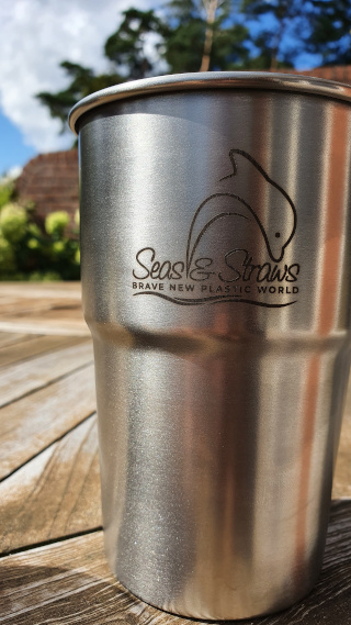 Market your event with branded Enviro-Cups. Photos: ©Seas & Straws