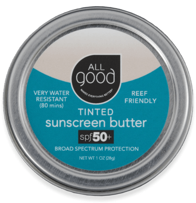 All Good sunscreen is organic and reef-friendly. Photo: ©lifewithoutplastic.com