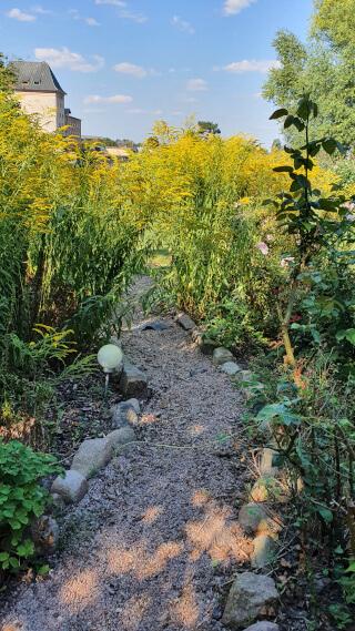 The garden. Photo: ©Seas & Straws